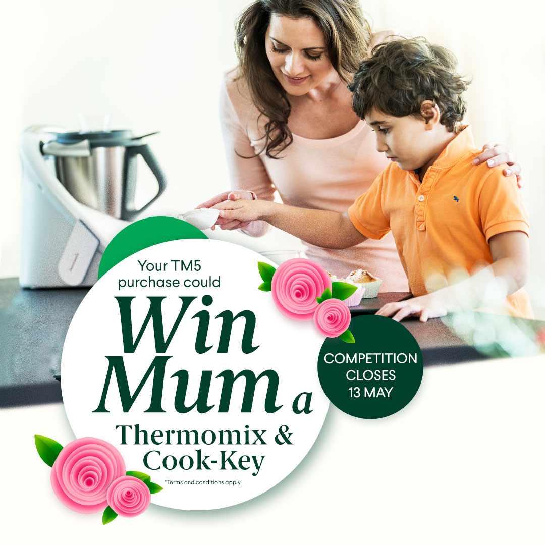 Win a Thermomix and Cook-Key - Mother's Day Competition