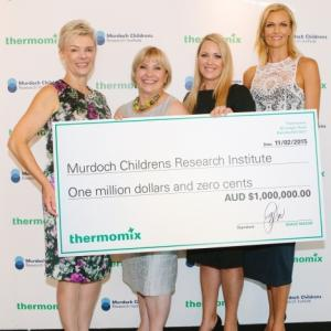 Thermomix in Australia supports the Murdoch Childrens Research Institute